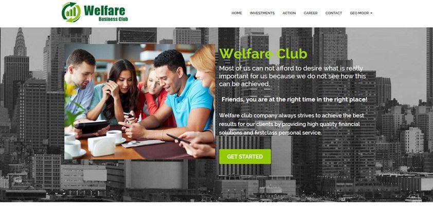 Одностраничный сайт с регистрацией и кабинетом