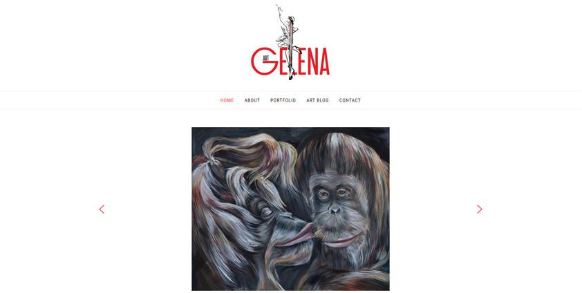 Сайт художника Гелены Чеботарь